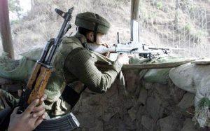 पाकिस्तान ने नियंत्रण रेखा पर लगातार दूसरे दिन किया संघर्षविराम उल्लंघन