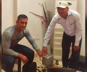 बीसीसीआई ने पद्म भूषण के लिये धोनी का नाम भेजा